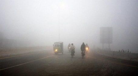 Heavy fog engulfs parts of Punjab including Lahore
