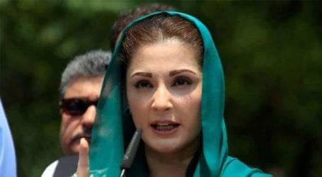 """Those chanting false slogans turned out to be """"corruption king"""": Maryam Nawaz"""