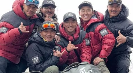 Pakistan congratulates Nepali climbers for summiting K-2 in winter