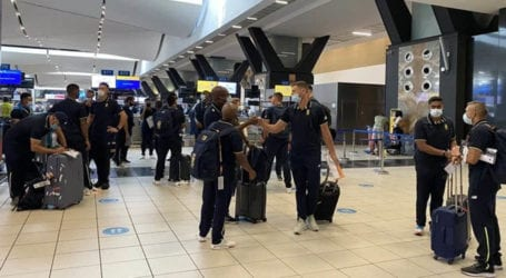 South Africa's cricket team test negative for COVID-19 upon arrival in Karachi