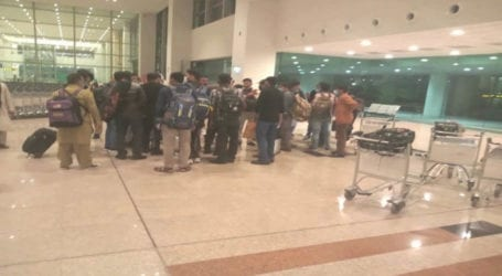 Stranded passengers of seized PIA plane in Malaysia land in Islamabad