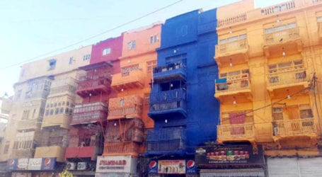 Culture Dept ordered to restore painted old buildings on Burns Road