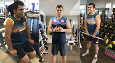 Kamran Akmal gives major fitness goals in a workout video