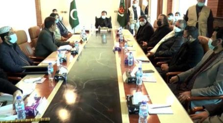 PM chairs meeting to review law and order situation in Balochistan