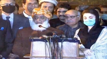PDM to contest by-elections: Maulana Fazl