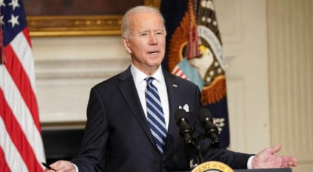 US will lead way on 'existential' climate crisis: Biden