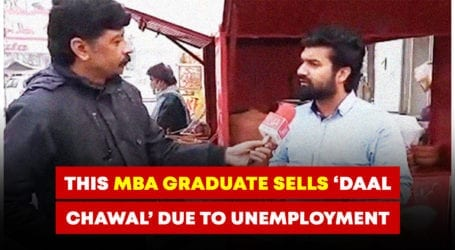 This MBA graduate sells 'daal chawal' rather than finding a job