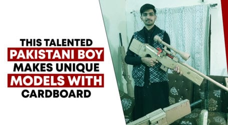 This youngster started building guns after playing video games