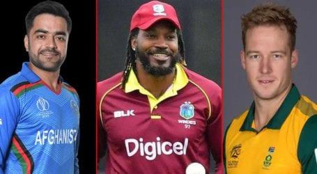 Chris Gayle, David Miller, Rashid Khan feature in PSL 2021 Platinum roster