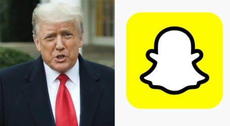 Snapchat permanently bans Donald Trump