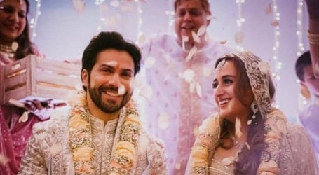 Bollywood actor Varun Dhawan ties the knot