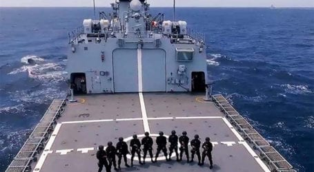 President Alvi congratulates Navy on hosting Aman 2021 exercise