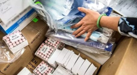 Expired medical equipment imported from China being sold with new labels