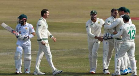 Second Test: Pakistan slump to 229-7 after Babar's early dismissal