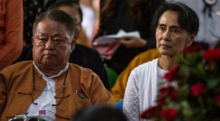 Suu Kyi close aide arrested as parliamentarians maintain symbolic meeting