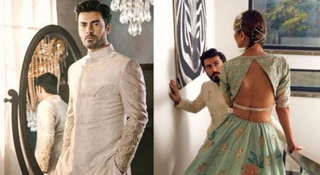 Fawad Khan looks dazzling in recent photoshoot for wife's brand