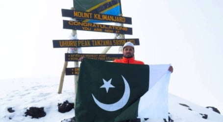 Pakistani mountaineer summits Mount Kilimanjaro within 24 hours