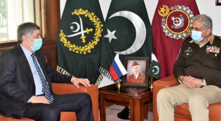Russian Envoy to Afghanistan calls on Gen Bajwa