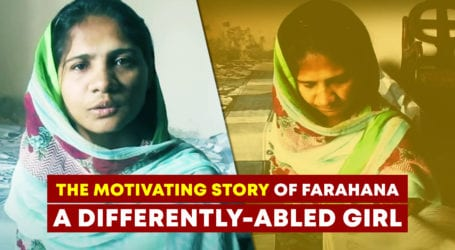 This girl shows that disability is no barrier to success