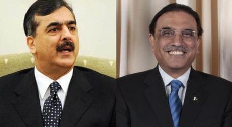 Zardari assures Gilani victory in Senate elections