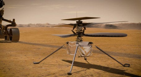 NASA to fly helicopter on Mars for first time