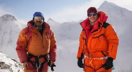 Rescue operation launched for missing mountaineers on K2