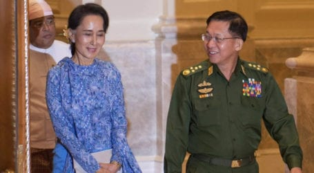 Myanmar police file charges against Aung San Suu Kyi after coup
