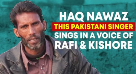 This talented singer is waiting for the proper platform to show his skills