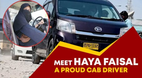 This female cab driver is providing safe transport services for women