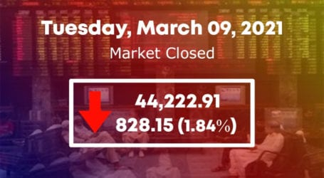 Bears dominate PSX as index sinks 828 points