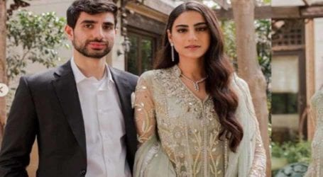Rehmat Ajmal looks ravishingly glamorous at her valima