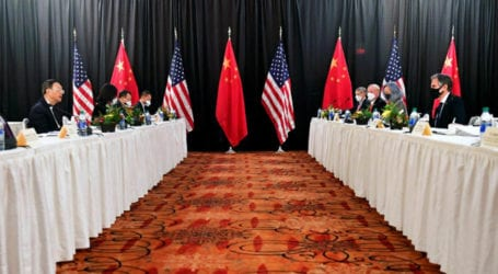 US, Chinese diplomats clash publically at start of first talks