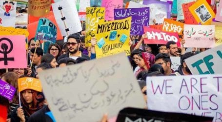 In pictures: A look-back to Aurat March 2020