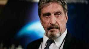 John McAfee was accused of failing to pay tax on 10 million euros of earnings. Source:: AFP