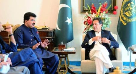 PM nominates Sadiq Sanjrani as Chairman Senate