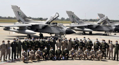 Royal Saudi Air Force contingent arrives to participate in military exercise