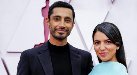 Riz Ahmed and wife Fatima Mirza give cutest couple goal at Oscars