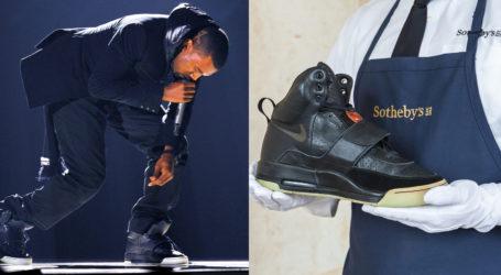 US rapper Kanye West's Yeezy shatter sale records at $1.8 mn