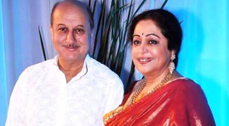 'She is in good spirits': Anupam Kher updates fans on Kirron Kher's health