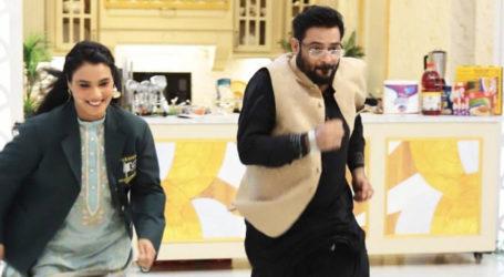 Aamir Liaquat stumbling during live show sparks 'meme fest'