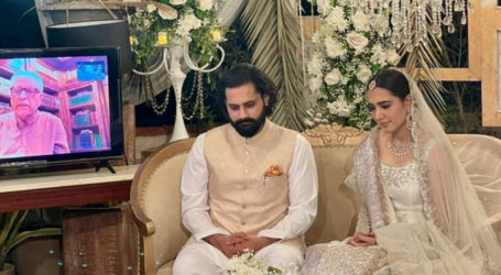 Activist Jibran Nasir, actress Mansha Pasha tie the knot