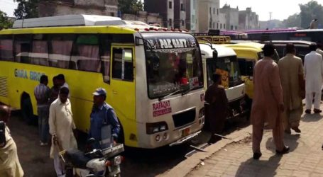 Sindh govt bans inter-city public transport