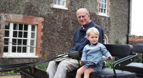 William, Harry pay tribute to grandfather Prince Philip