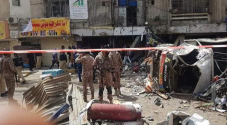 Three killed, several injured in Karachi cylinder blast