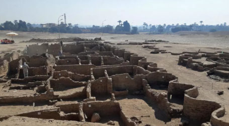 Egypt unveils 3,000-year-old city near Luxor