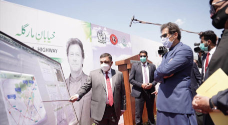 PM performs ground-breaking of Margalla Avenue project in Islamabad