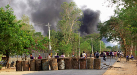 Myanmar security forces kill over 80 protesters