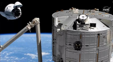 SpaceX Crew Dragon brings new crew to ISS