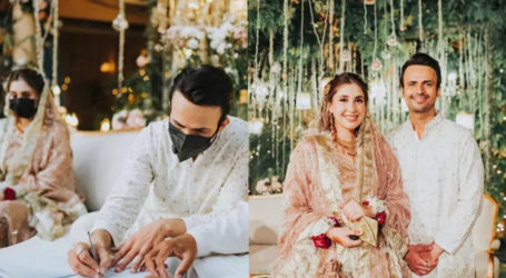 Usman Mukhtar reveals how he met his wife Zunaira Inam Khan