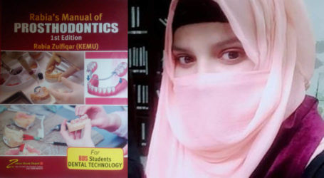 Meet Rabia Zulfiqar, one of the youngest Pakistanis to author book on practical dentistry